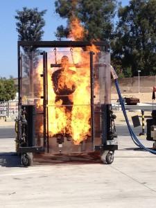 Dupont Thermoman (brandveiligheids)test