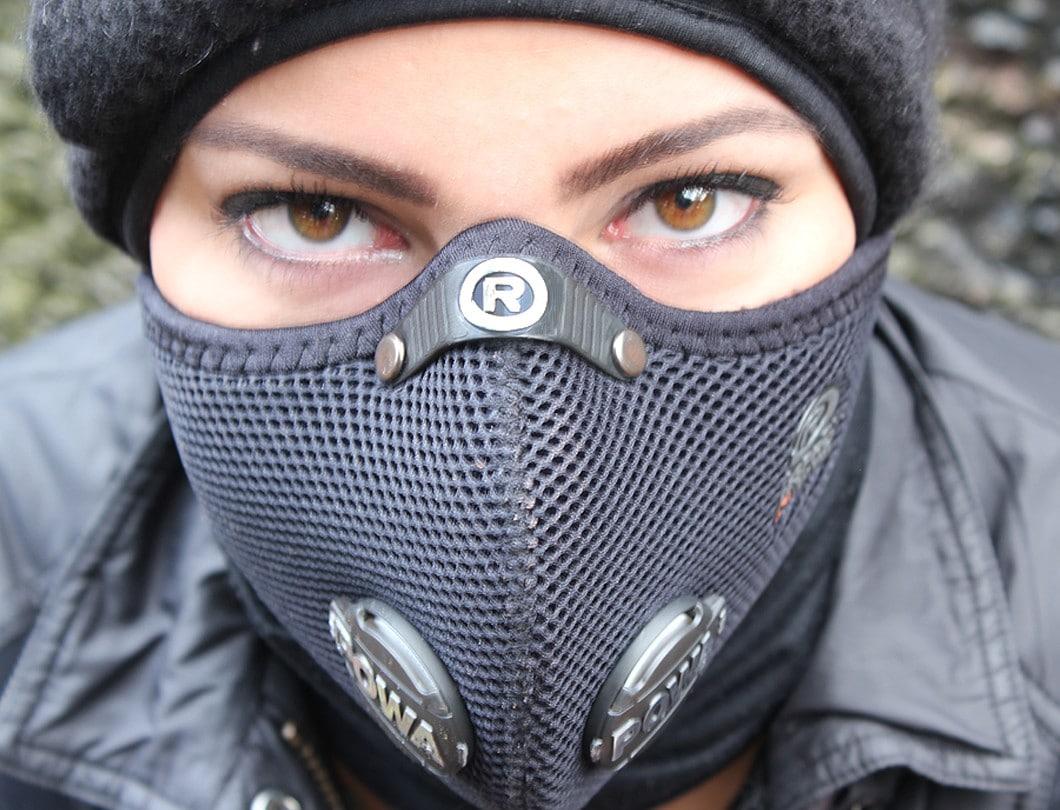 Ultralight Zwart mondkapje